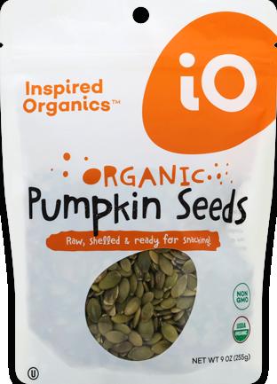 Raw Pumpkin Seeds Pouch