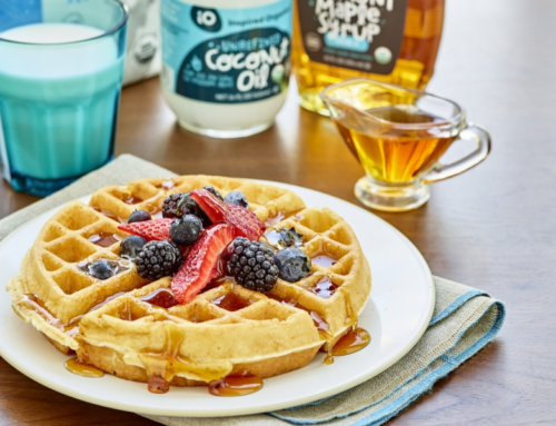 Inspired Eats – Coconut Oil Waffles