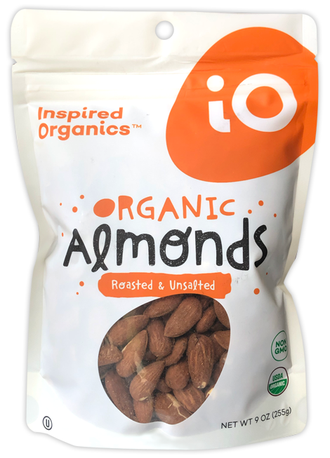 Roasted Unsalted Almonds Pouch