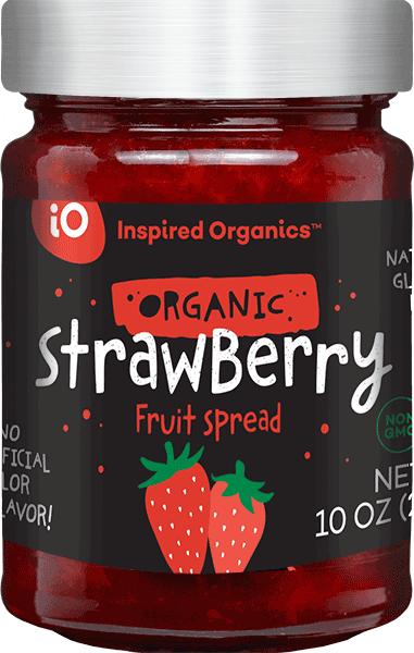 Organic Strawberry Fruit Spread