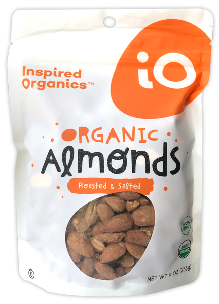 Roasted Salted Almonds Pouch