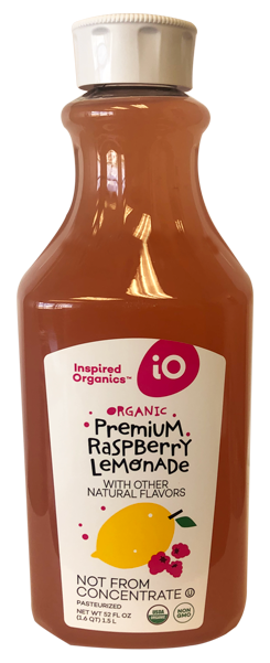 Organic Raspberry Lemonade
